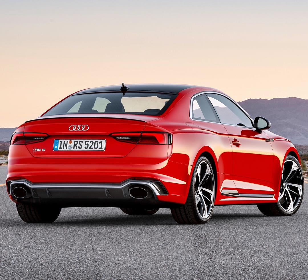 Audi Rs5 V8 Turbo Kit: What A Rear ...tasty RS-Sportsexhaust #audi #audirs5