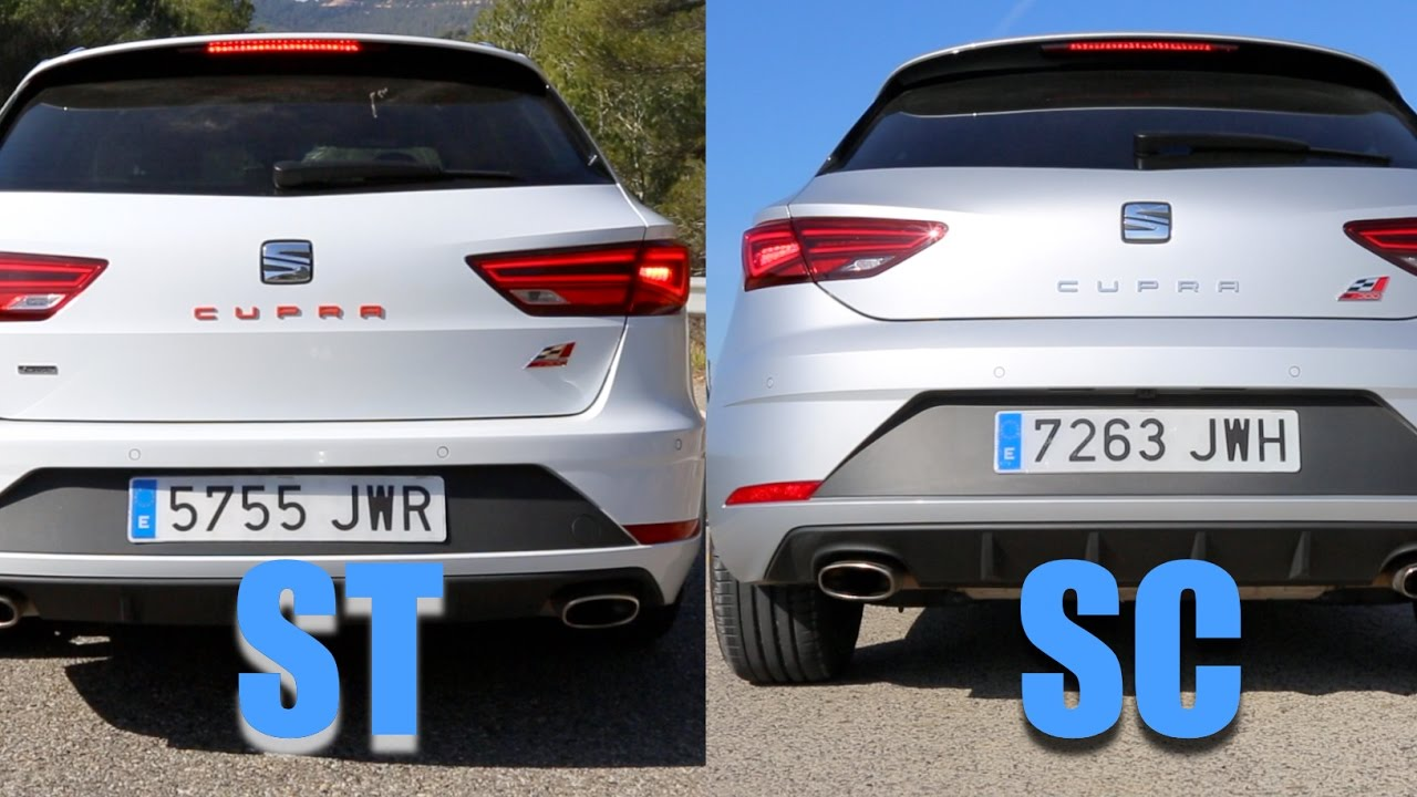 SEAT Leon Cupra 300 – ST vs. SC SOUND (60FPS) – #AutomannTalks