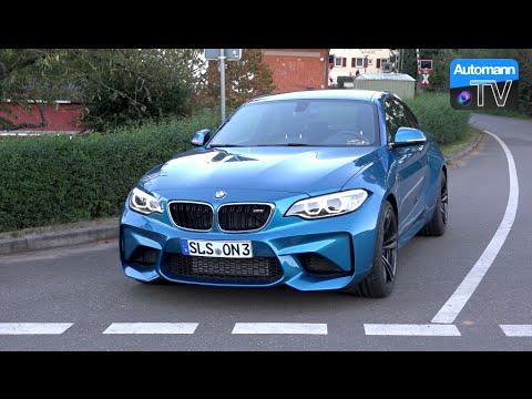 2017 BMW M2 Manual (370hp) – DRIVE & SOUND (60FPS)