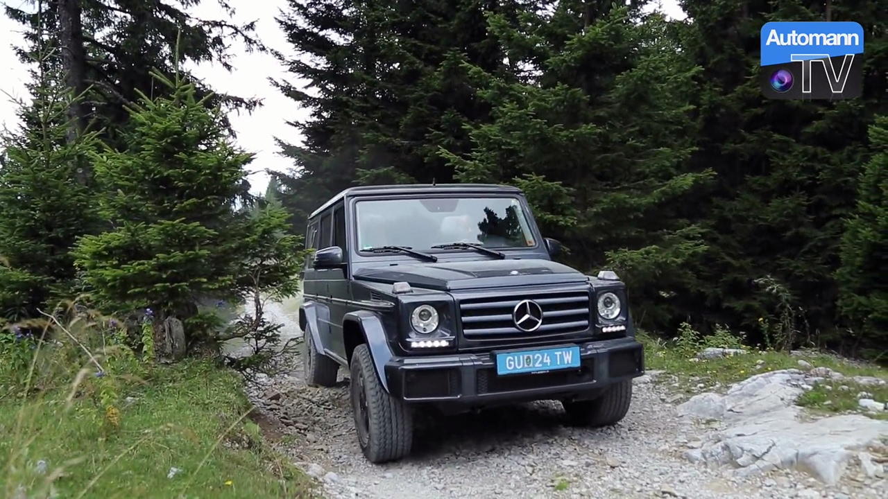 2016 Mercedes-Benz G-Class – Offroad ROADTRIP (60FPS)