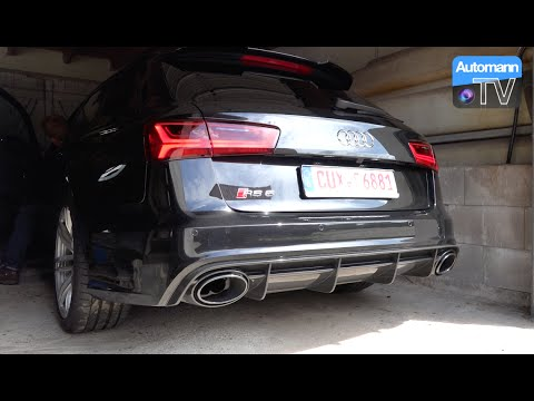 2015 audi rs6 facelift 560hp pure sound 60fps automann tv. Black Bedroom Furniture Sets. Home Design Ideas