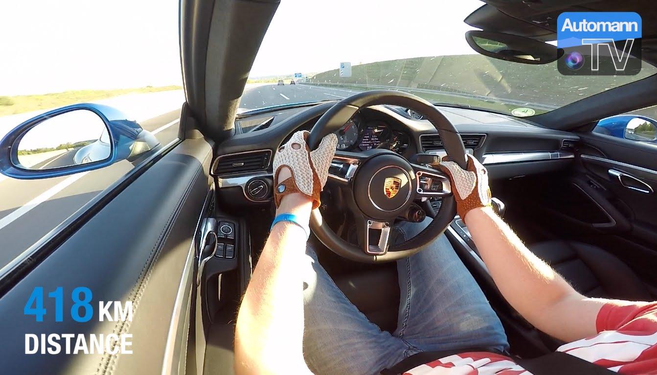 2016 Porsche 911 – Cross-Germany ROADTRIP (60FPS)