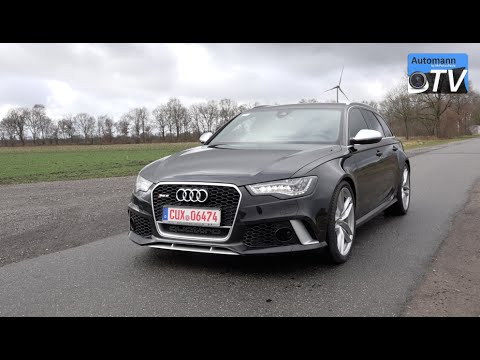 2014 audi rs6 avant 560hp drive sound 1080p automann tv. Black Bedroom Furniture Sets. Home Design Ideas