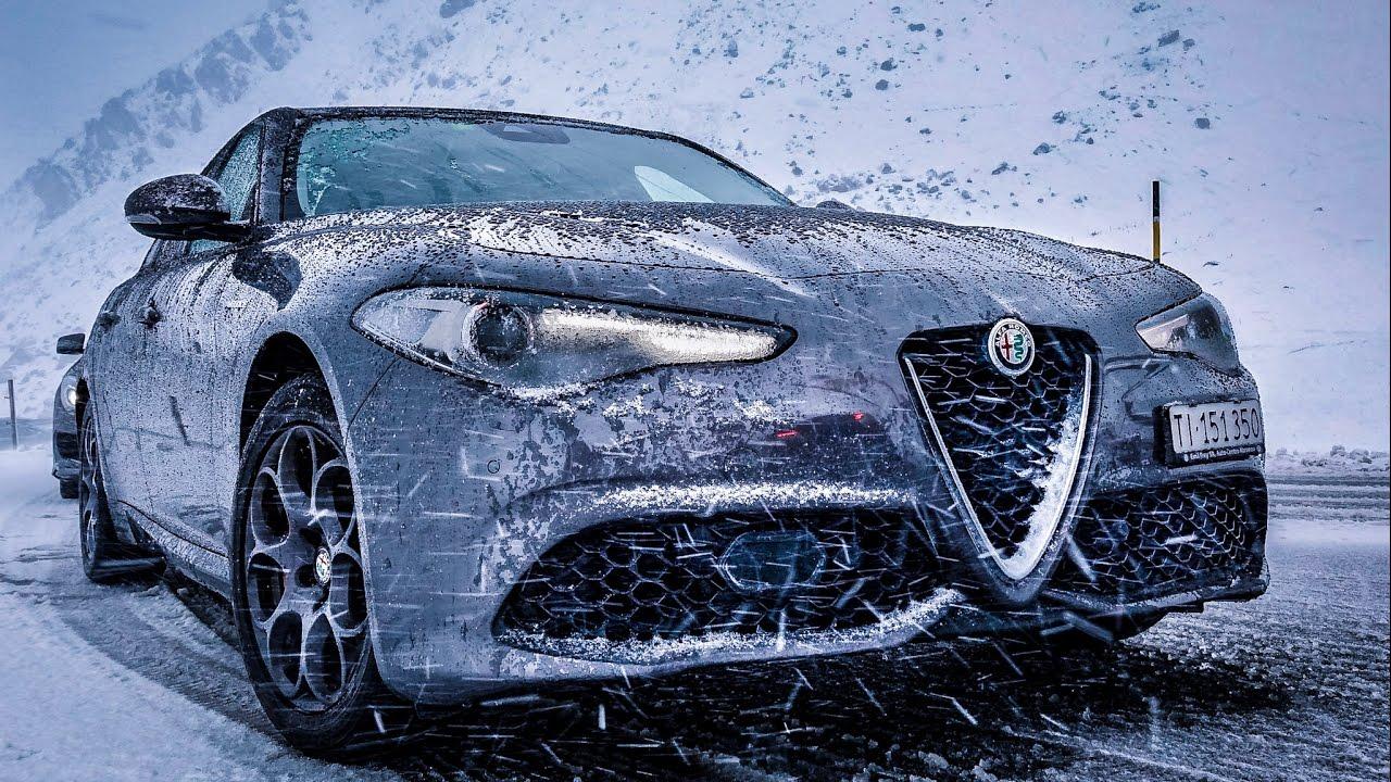 Alfa Romeo Giulia Veloce – St. Moritz ROADTRIP (60FPS)