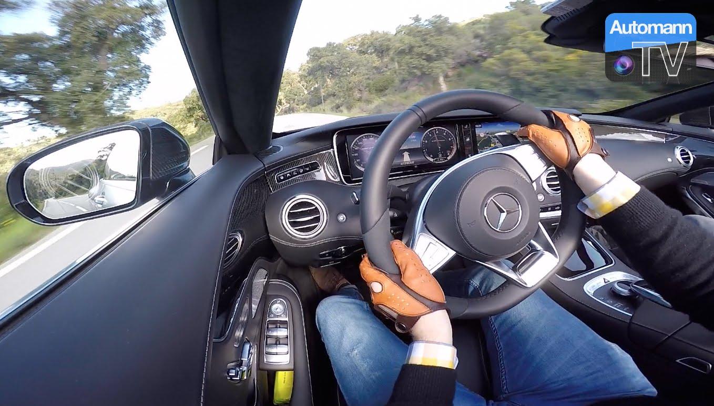 2017 Mercedes-AMG S63 Cabrio – Côte d'Azur ROADTRIP (60FPS)
