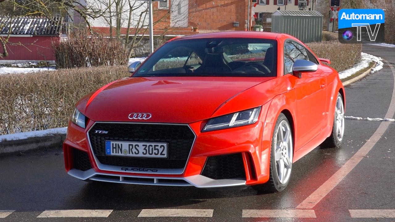 2017 Audi TT RS (400hp) – DRIVE & SOUND (60FPS)