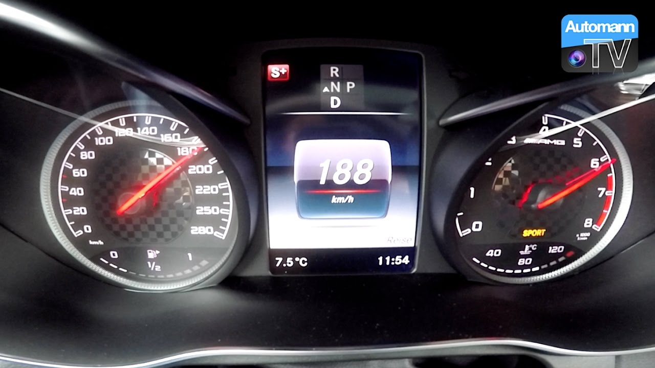 Performmaster GLC 43 (430hp) – 0-200 km/h acceleration (60FPS)