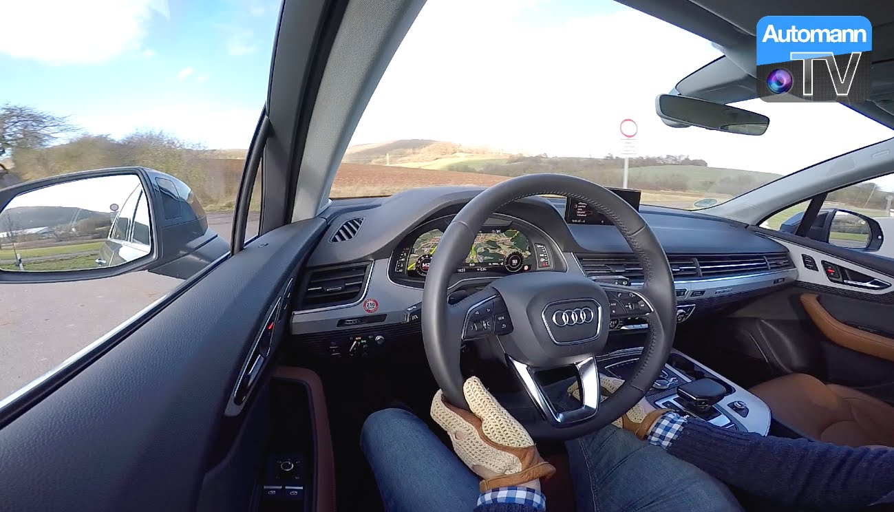 2016 Audi Q7 (333hp) - #AutomannTalks - Automann-TV