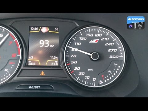 SEAT Leon Cupra 300 – 0-100 km/h Launch Control (60FPS)