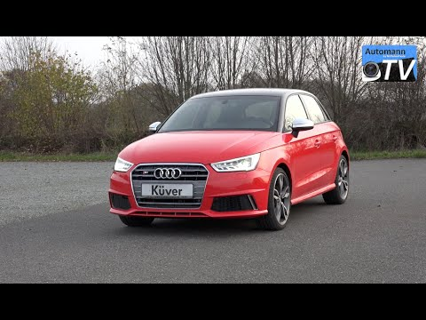 2015 audi s1 sportback 231hp check sound 1080p automann tv. Black Bedroom Furniture Sets. Home Design Ideas