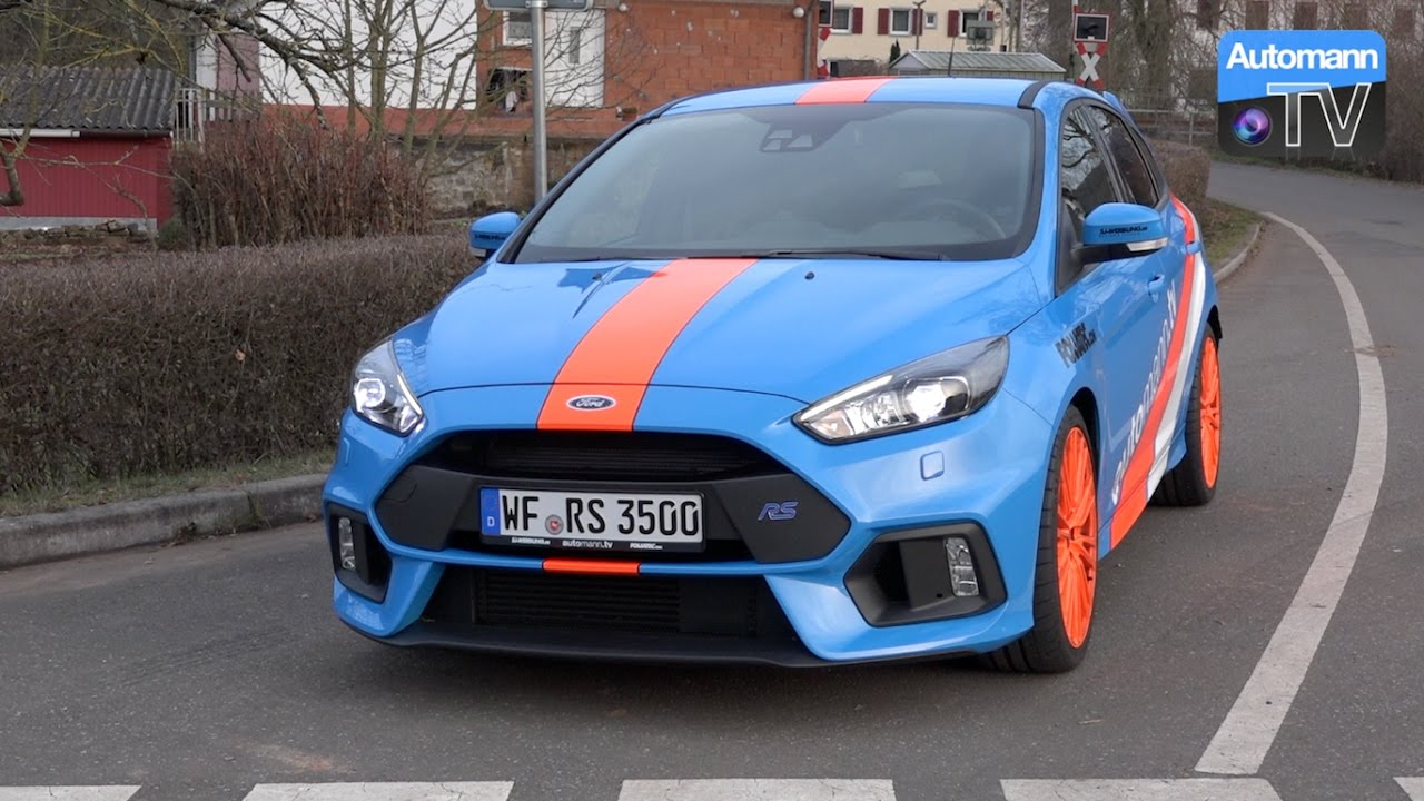 Ford Focus RS EGO-X – DRIVE & SOUND (60FPS)
