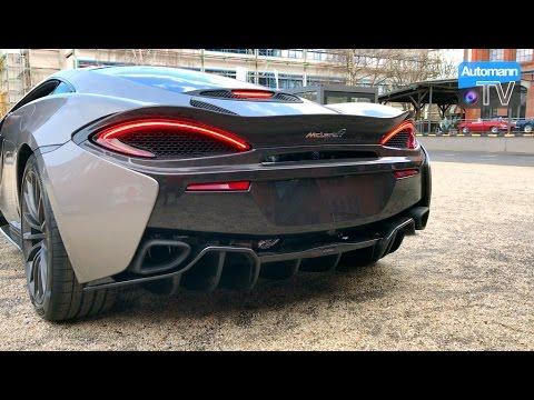 McLaren 570GT (570hp) – Cold-Start SOUND (60FPS)