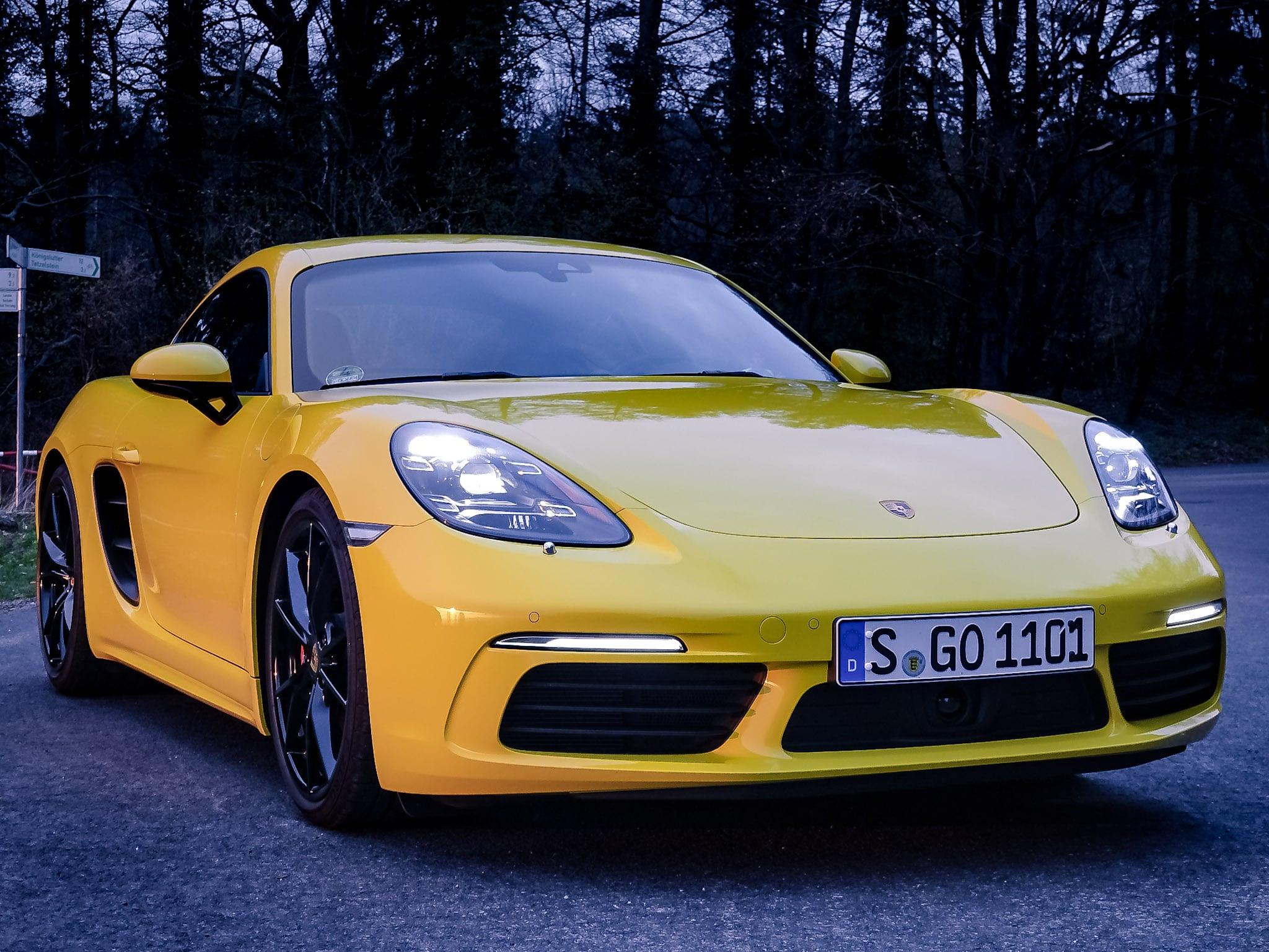 Blog – Porsche 718 Cayman S – 4Cylinder? What a weapon!