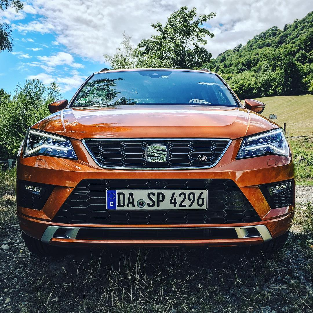 Seat Ateca FR☝️…a very versatile car with some nice & sporty exterior👌 @seat_de @seat_official #seat #seatateca #atecafr #ateca #austria #wien #automanntv