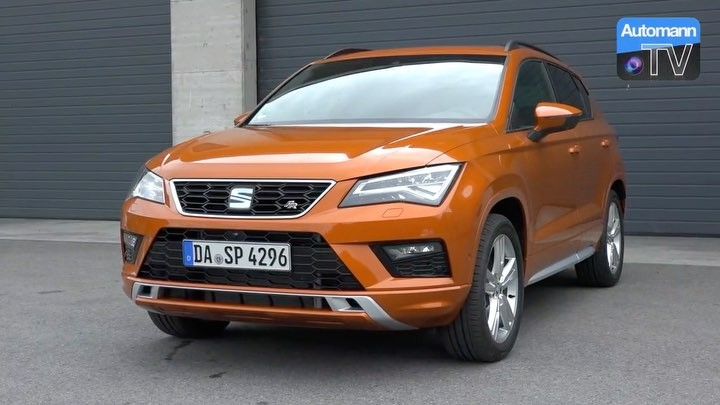 Our full DRIVE & SOUND review of the Ateca FR is now out on YouTube😬 Stay tuned for lots more Cupra 300 footage coming within the next days😎✌️ @seat_de @seat_official #seat #seatateca #atecafr #seatatecafr #wien #orange #donau #automanntv