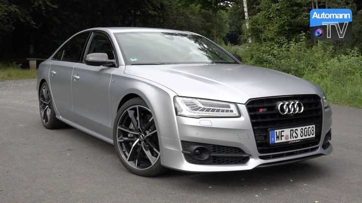 Finally…the full Drive & Sound of our silver & 605hp sledge HAMMER is finally on YouTube👊✌️ #audi #audis8 #s8plus #audis8plus #audisport #audirs #automannsgarage #automanntv