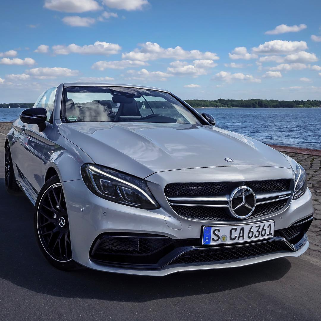 beautiful sunday morning in kiel at the baltic sea mercedesbenz de mercedesamg c63 cabrio. Black Bedroom Furniture Sets. Home Design Ideas