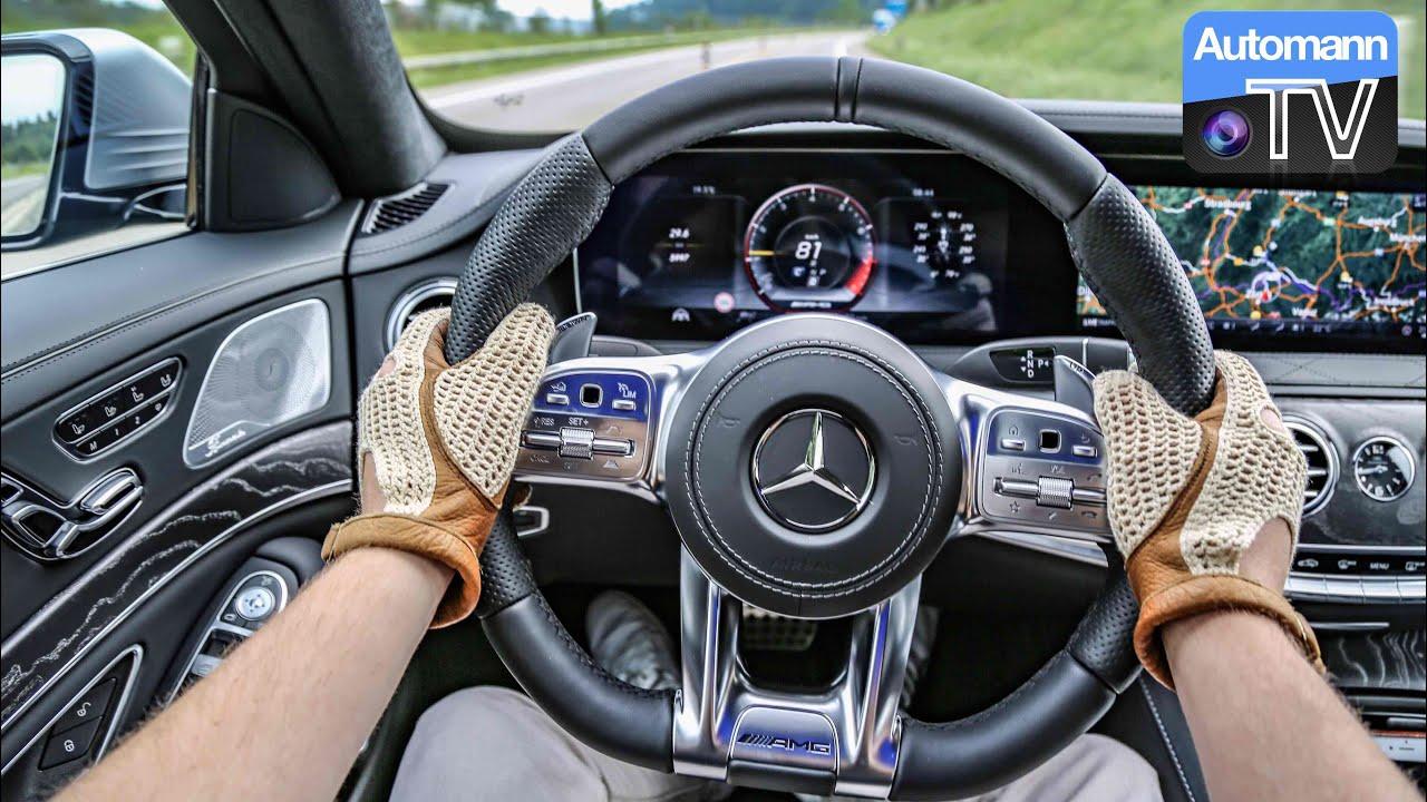 2018 Mercedes-AMG S63 (612hp) – Handling DRIVE (60FPS)