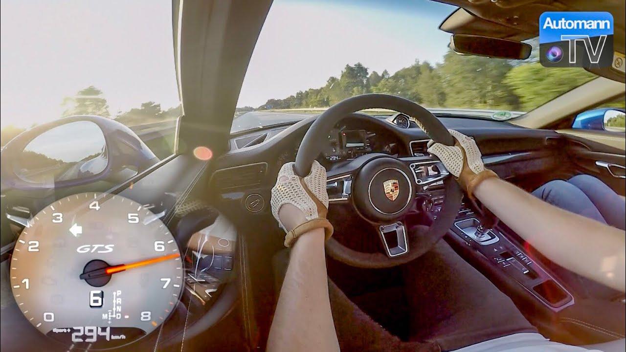 Porsche 991.2 GTS – 0-300 km/h LAUNCH CONTROL (60FPS)