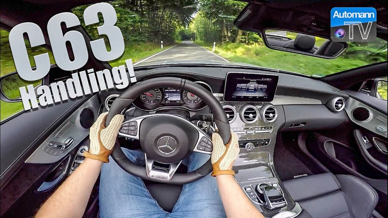 2018 Mercedes-AMG C63 (476hp)- Handling DRIVE (60FPS)