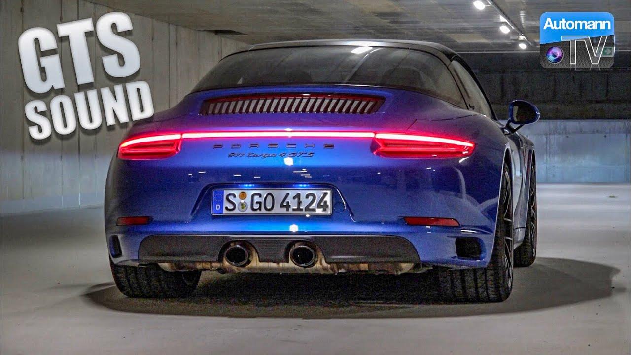 Porsche 991.2 Targa GTS (450hp) – pure SOUND (60FPS)