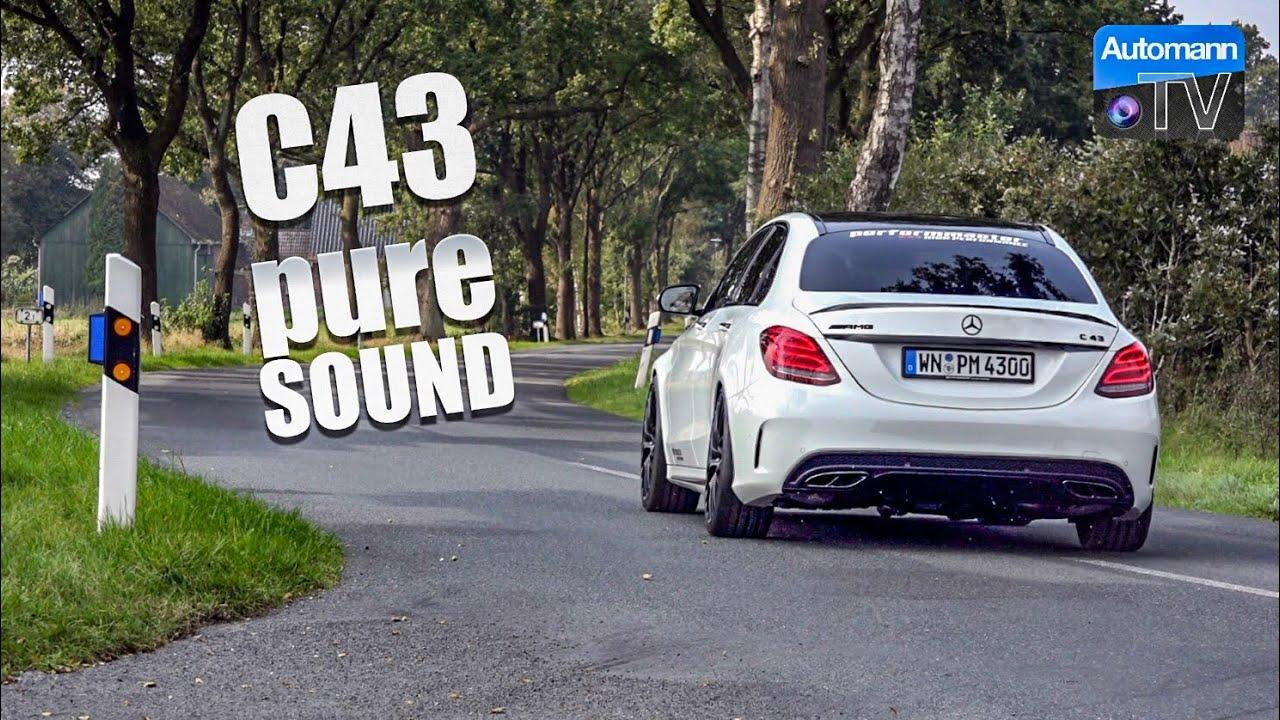 2018 Mercedes-AMG C43 (430hp) – pure SOUND (60FPS)