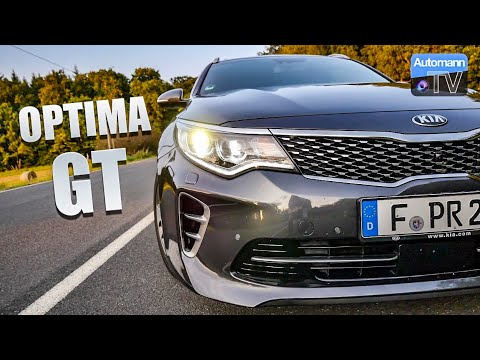2017 KIA Optima GT (245hp) – #AutomannTalks (60FPS)