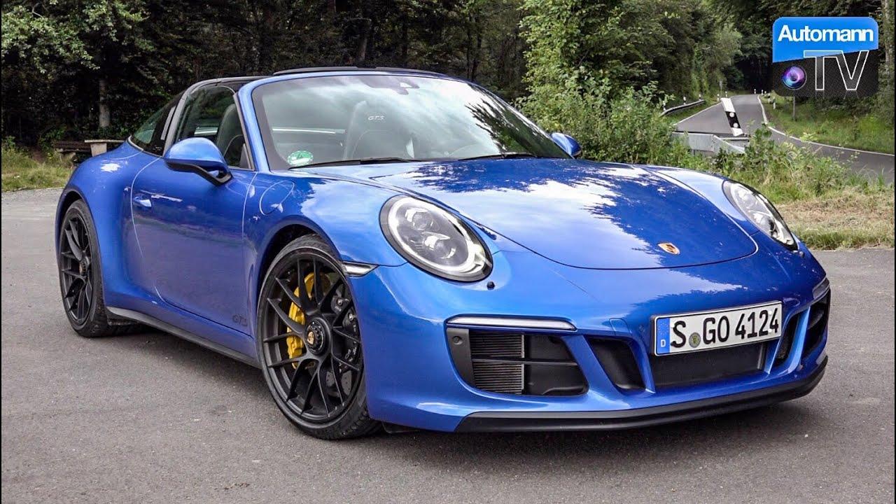 Porsche 991.2 Targa 4 GTS (450hp) – DRIVE & SOUND (60FPS)