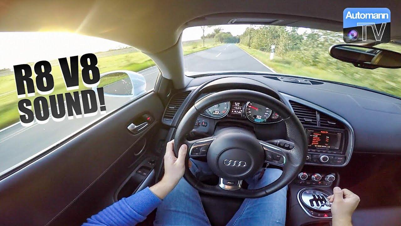 Audi R8 V8 (430hp) – Handling Drive (60FPS)