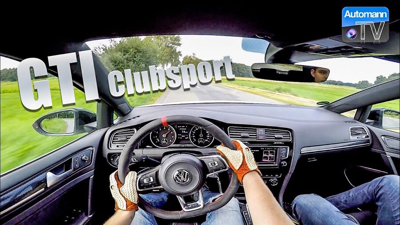 VW Golf GTI Clubsport (290hp) – Handling DRIVE (60FPS)
