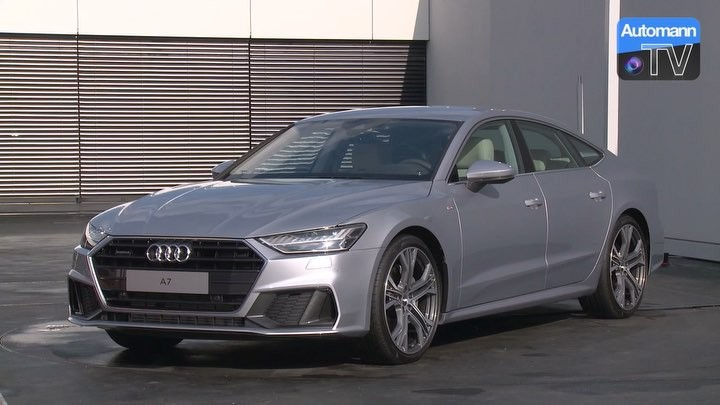 New Audi A7 with S-Line exterior + 21 inch wheels💥👌 @audi_de #audi #audia7 #audia7sline #a7 #a72018 #a7sline #newa7 #automanntv