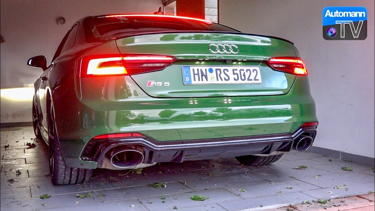 2018 Audi RS5 (450hp) – pure SOUND (60FPS)
