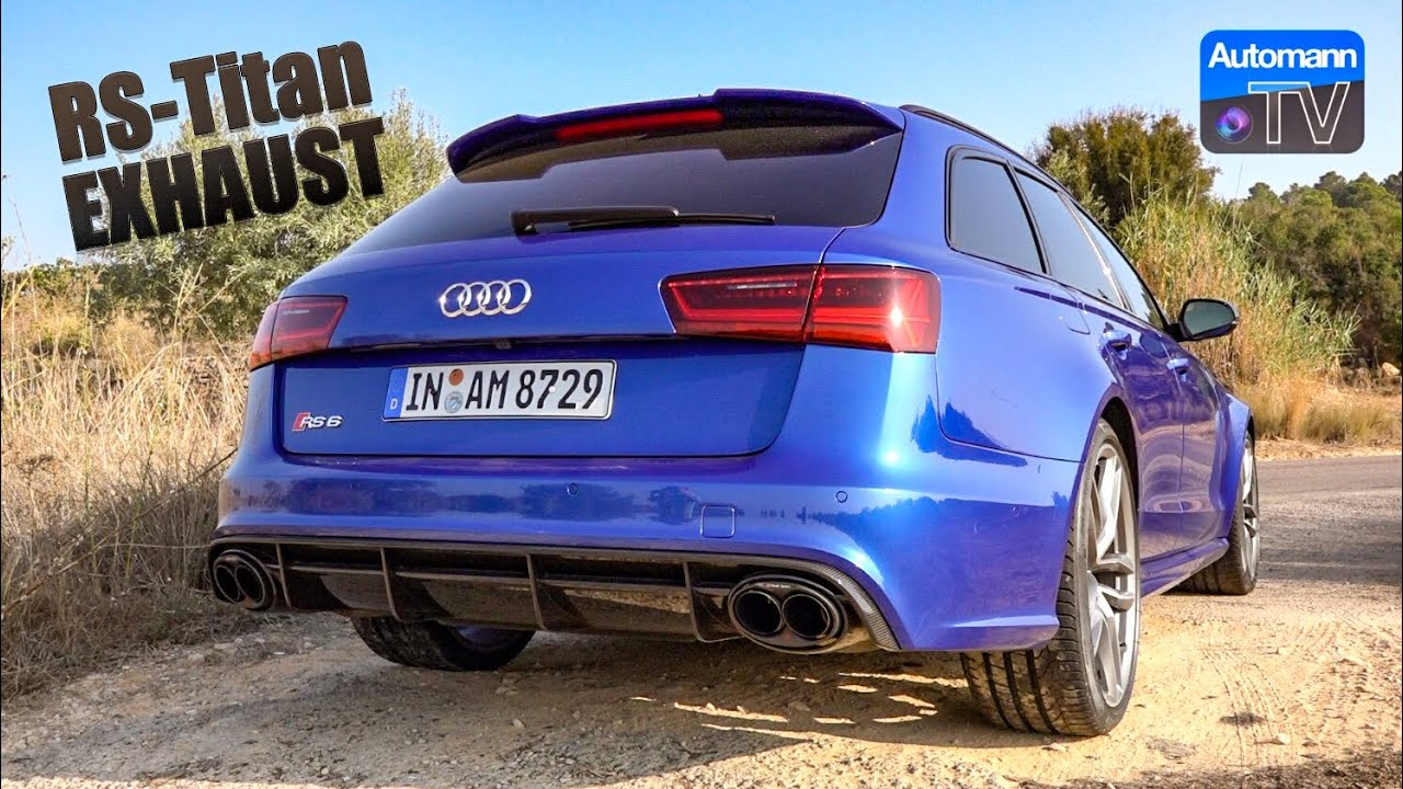 2018 Audi RS6 Titan-Exhaust – pure SOUND (60FPS)