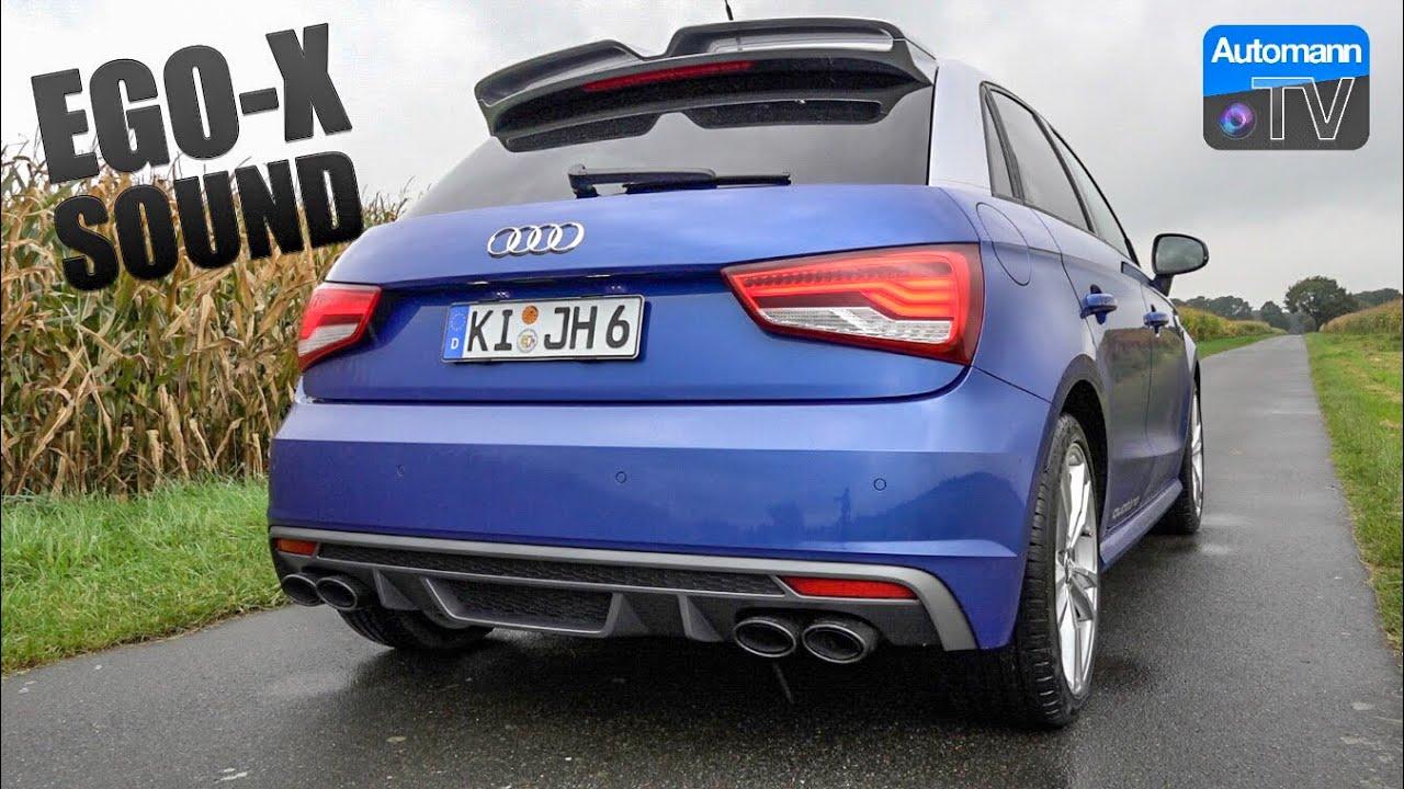 Audi S1 Sportback EGO-X – pure SOUND (60FPS)