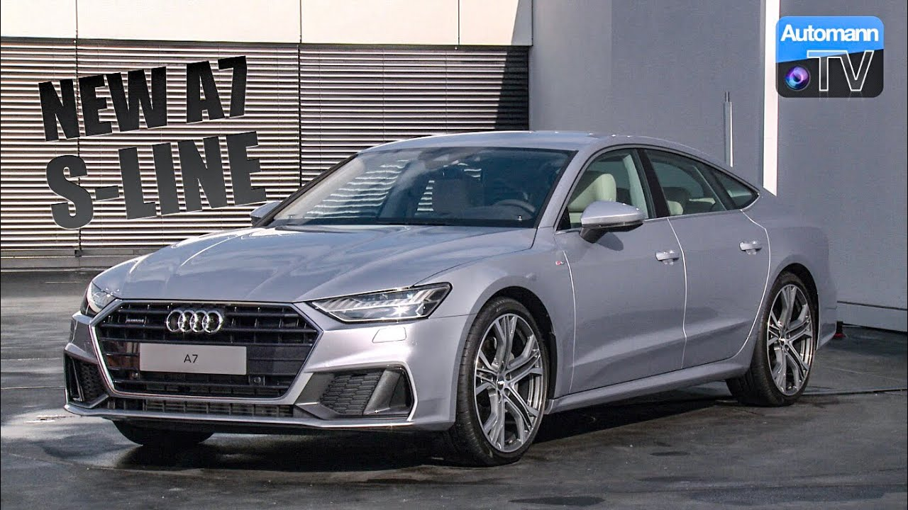 2018 audi a7 55 tfsi s line detailed tour 60fps for Garage audi tours