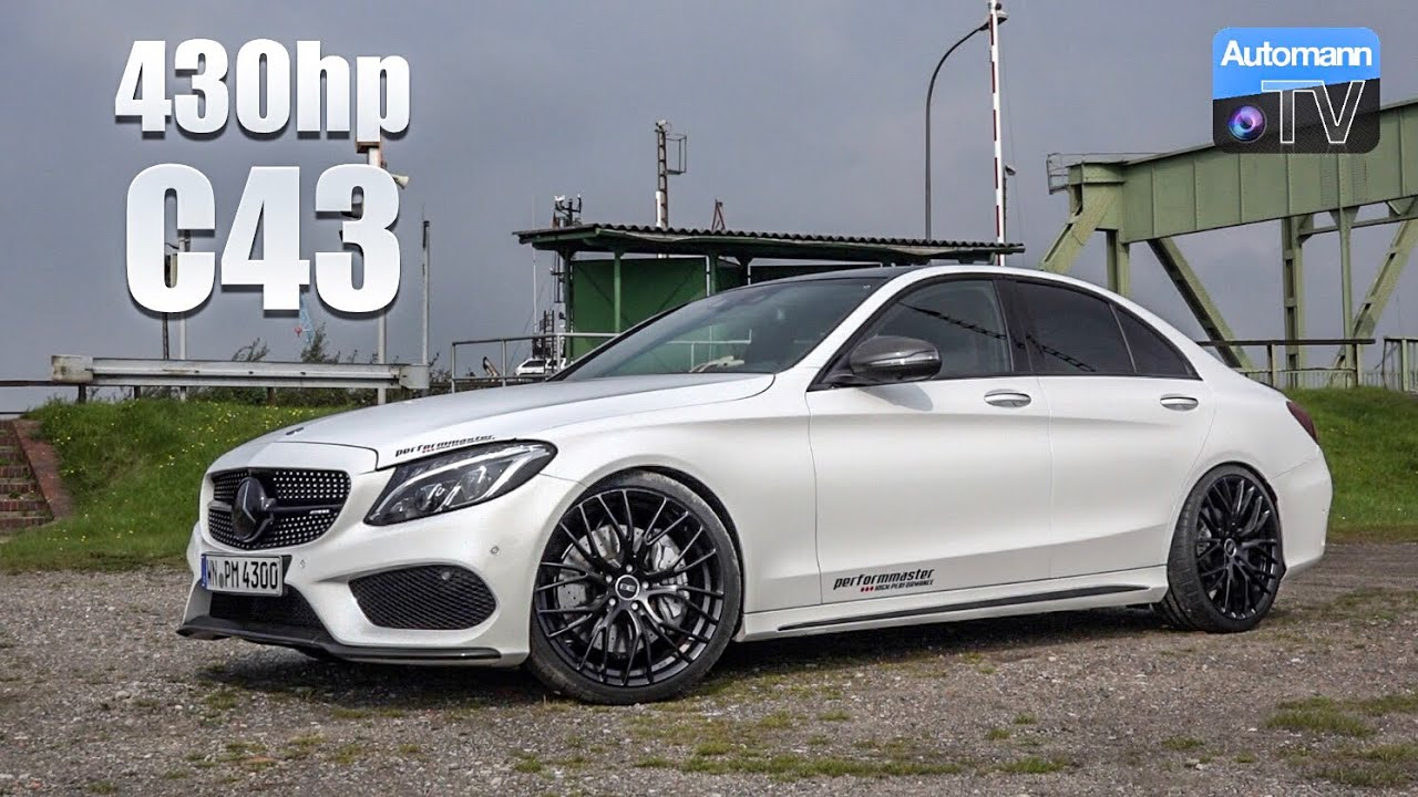 2018 Mercedes-AMG C43 (430hp) – DRIVE & SOUND (60FPS)