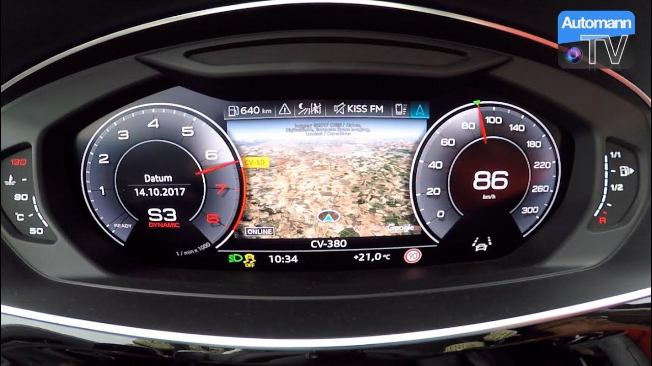 2018 Audi A8 55 TFSI – 0-100 km/h acceleration (60FPS)