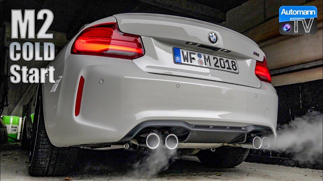 2018 BMW M2 Facelift – Cold-Start SOUND (60FPS)