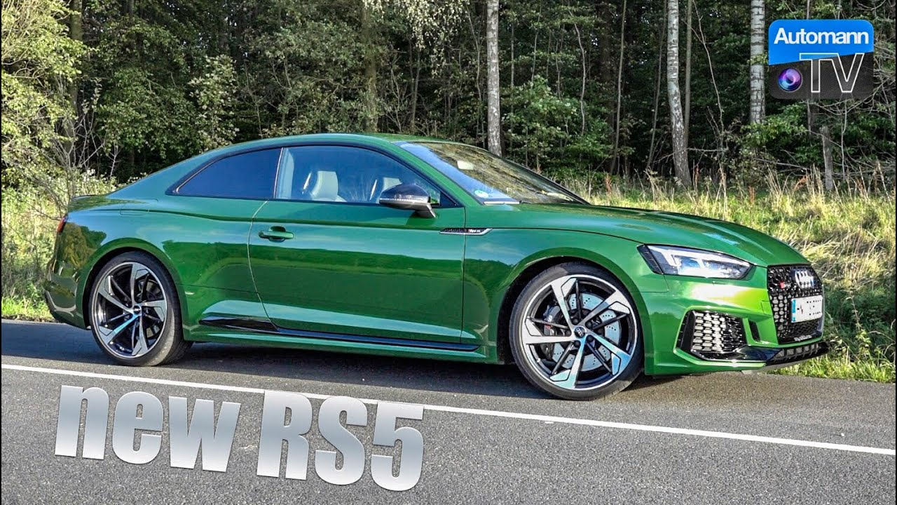 2018 Audi RS5 (450hp) – DRIVE & SOUND (60FPS)