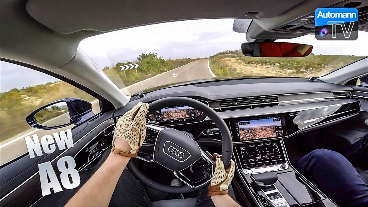 2018 Audi A8 55 TFSI – DRIVE & TALK (60FPS)