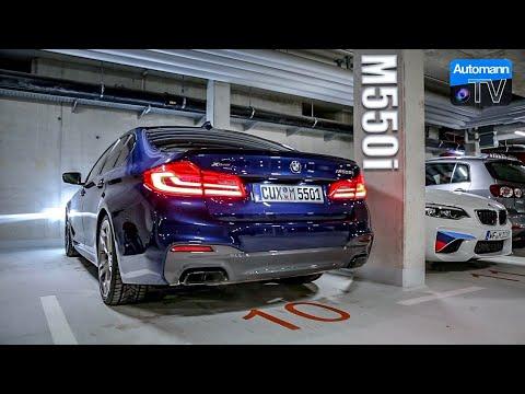 2018 BMW M550i 4.4 V8 – Cold-Start SOUND (60FPS)