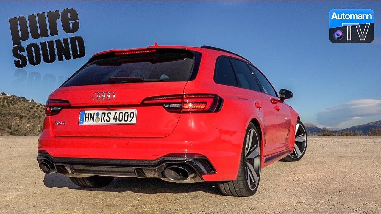 2018 Audi RS4 (450hp) – pure SOUND (60FPS)