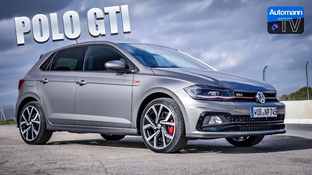 2018 VW Polo GTI (200hp) – DRIVE & SOUND (60FPS)