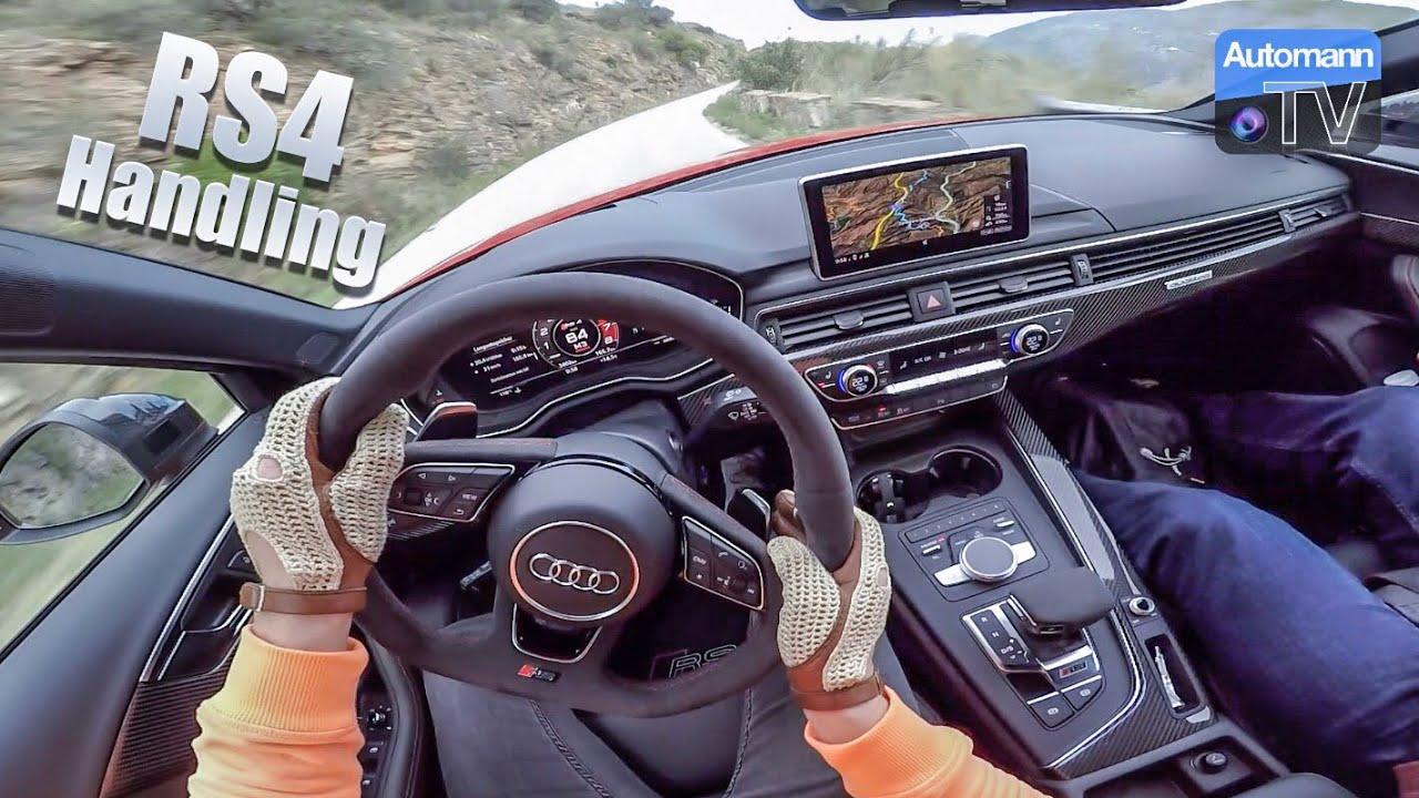 2018 Audi RS4 (450hp) – DRIVE & TALK (60FPS)