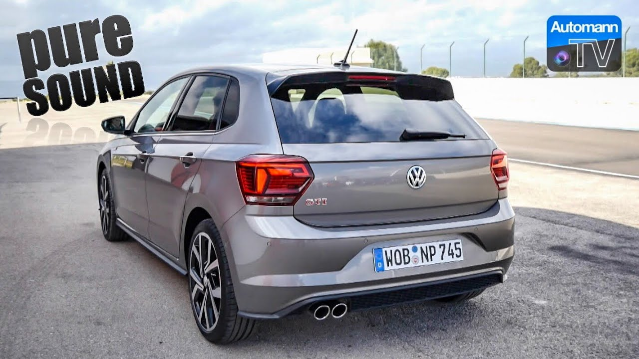 2018 VW Polo GTI (200hp) – pure SOUND (60FPS)