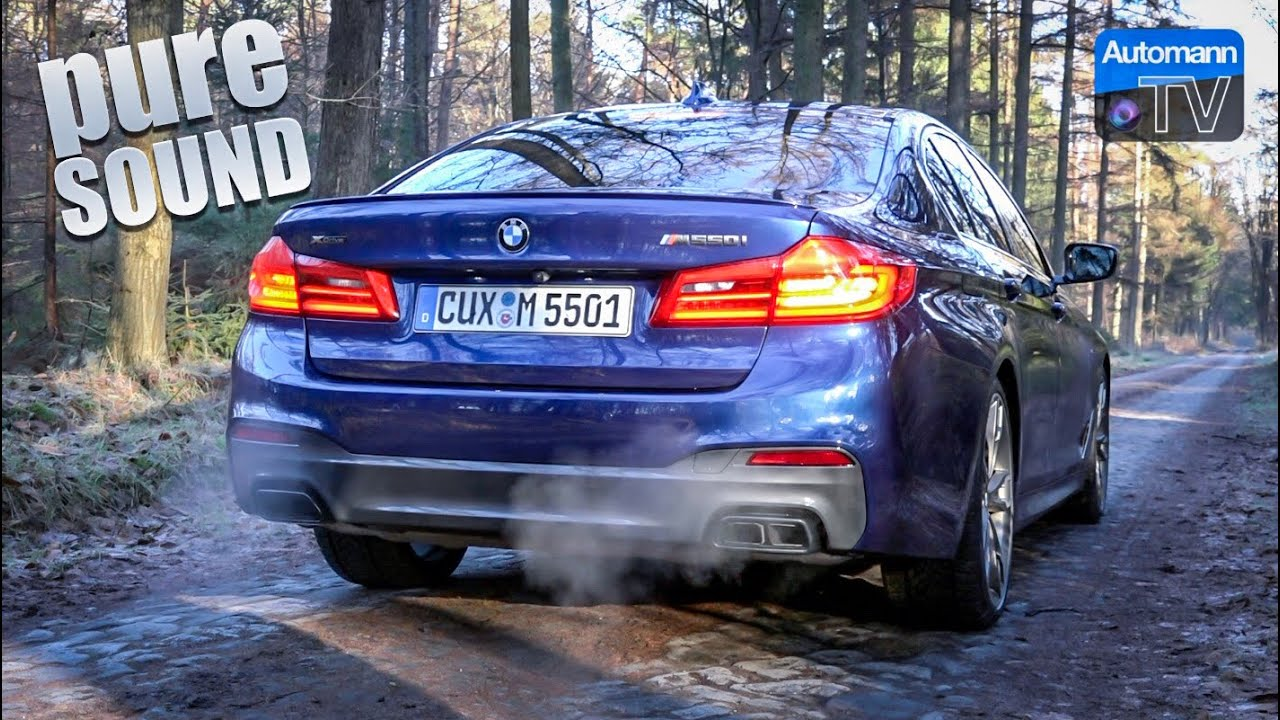 2018 BMW M550i 4.4 V8 – pure SOUND (60FPS)