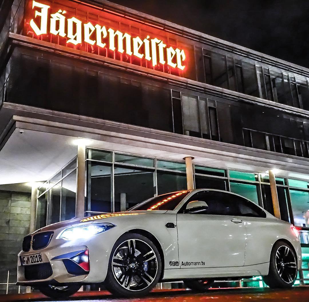 Turbomeister & Wolfenbüttel🤘 @jaegermeisterde #bmwhommage #bmw #m2 #m2lci #mperformance #jaegermeister #dontdrinkanddrive #wolfenbüttel #automanntv #automannsgarage
