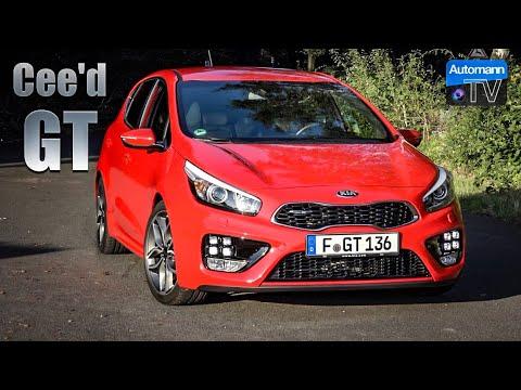 2017 KIA Cee'd GT (204hp) – DRIVE & SOUND (60FPS)