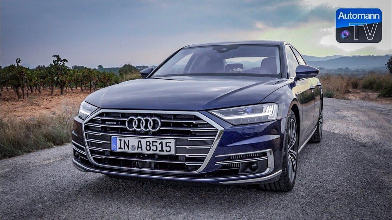 2018 Audi A8 55 TFSI – DRIVE & SOUND (60FPS)