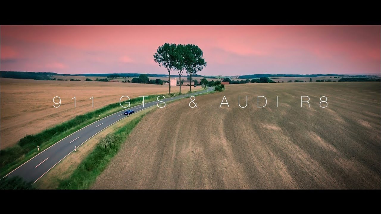 Porsche 991 GTS & Audi R8 V8 – Emotions & Sound (60FPS)
